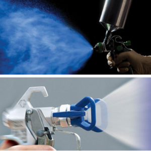 HVLP Sprayers vs. Airless sprayers