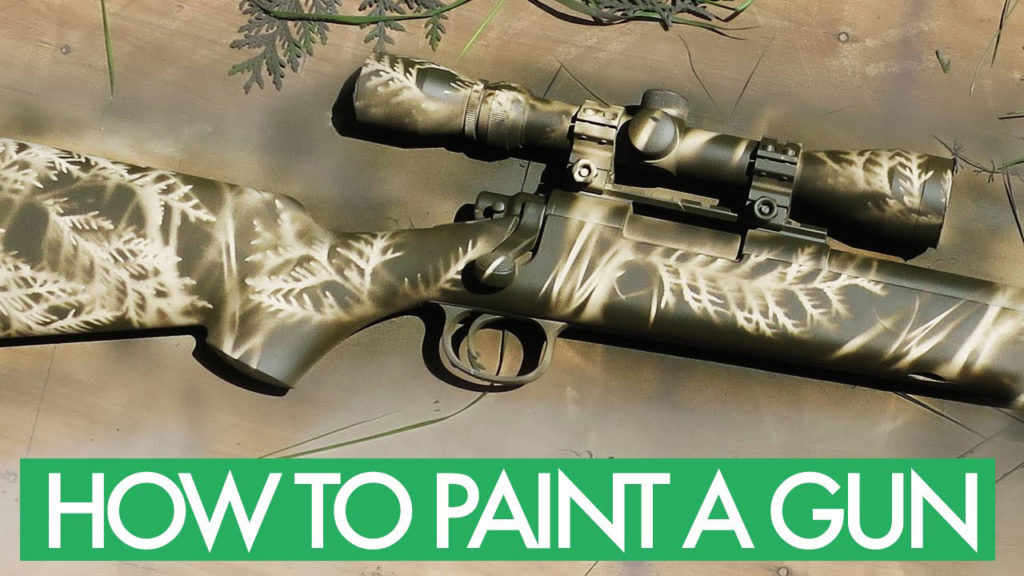 How To Paint A Gun