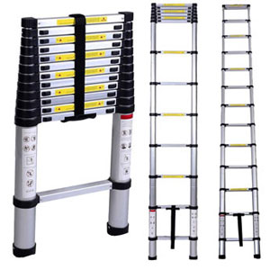 LUISLADDERS Telescopic Extension Ladder