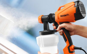 indoor paint sprayer for interior wall featured image